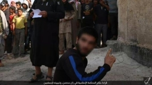 Graphic Photos: ISIS Terror Group Stone Man To Death